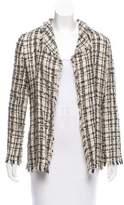 Ungaro Fringe-Trimmed Tweed Jacket