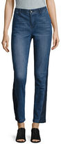 Highline Collective Two-Tone Skinny Jeans