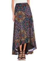 Badgley Mischka Stained Glass Hi-Low Skirt