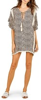 Thumbnail for your product : Surf.Gypsy Leopard Tassel-Tie Coverup