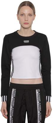 adidas Cropped Cotton Shrug