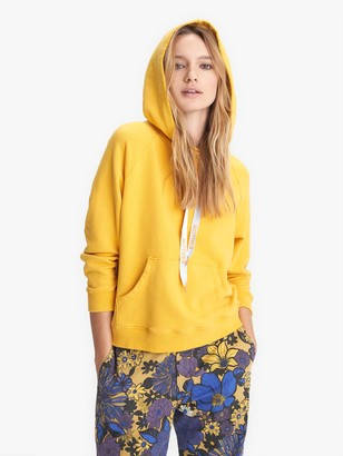 Mother The Square Hoodie - Mustard