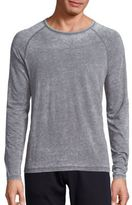 John Varvatos Heather Textured T-Shirt