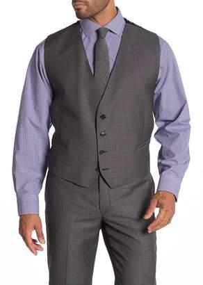 Calvin Klein Neat Slim Fit Suit Separate Vest