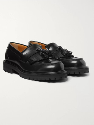 Mr P. Jacques Fringed Leather Loafers