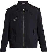 Lanvin Embroidered Faille Jacket