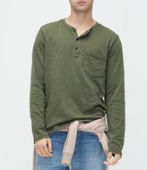 UGG Long-Sleeve Slim Fit Jersey Henley