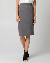 Le Château Gabardine Pencil Skirt