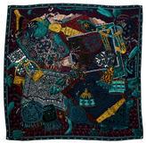 Hermes Cavaliers du Caucase Cashmere Silk Shawl