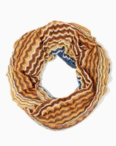 Charming charlie Colorful Striped Infinity Scarf
