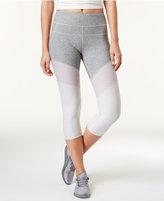 Calvin Klein High-Rise Colorblocked Cropped Leggings