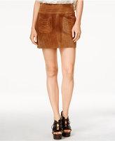 Free People Modern Love Suede Mini Skirt