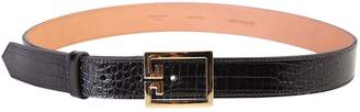 Givenchy Double G Embossed Belt