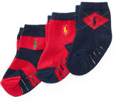 Ralph Lauren Argyle Rugby Sock 3-Pack