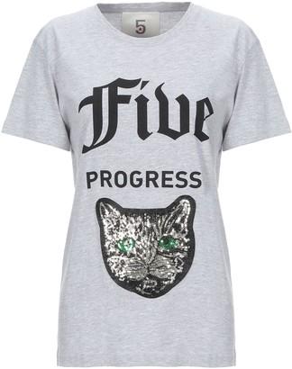 5 PROGRESS T-shirts