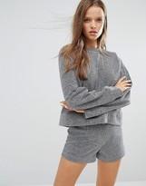 STYLE NANDA STYLENANDA Glitter Sweatshirt Co-Ord