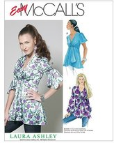 Mccall's M6202 Misses' Tops, Size A5 (6-8-10-12-14) by