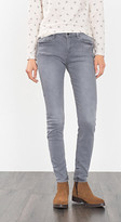 Esprit OUTLET grey stretch jeans with zip pockets