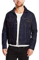 Levi's Men's The Trucker Denim Long Sleeve Jacket, Blue (Rinse)