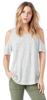 Sole Society Lou Striped Bare Shoulder Tee