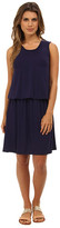 Christin Michaels Breana Dropwaist Sleeveless Dress