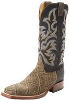 Justin Boots Men's Aqha Collection Elephant Boot