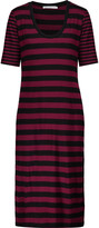 Kain Label Moby striped cotton midi dress