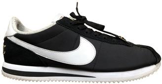 Nike Cortez Black Cloth Trainers
