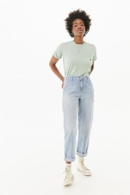 Carhartt WIP Pierce Light Wash Jeans - Blue 25 at Urban Outfitters