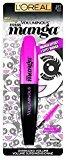 L'Oreal Voluminous Miss Manga Mascara, 373 Black, 0.27 Fluid Ounce