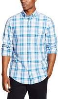 Gant Men's Madras Check Long Sleeve Regular Fit Casual Shirt