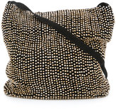 Ann Demeulemeester beaded slouchy shoulder bag