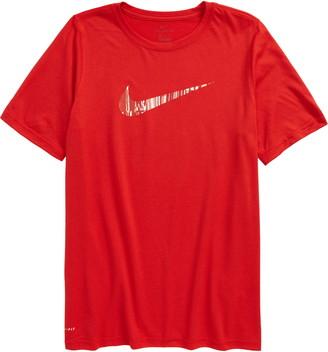 Nike Dry Kids' Swoosh Graphic Tee