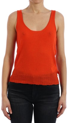 Bottega Veneta Scoop Neck Tank Top