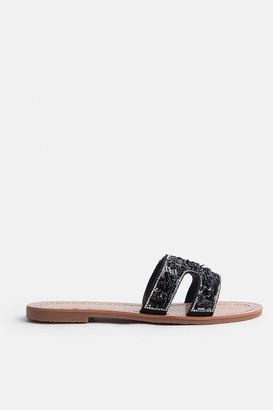 Coast Metallic Flat H Sandal