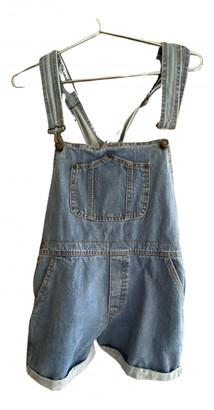 Brandy Melville Blue Denim - Jeans Jumpsuits