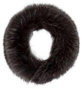 Theory Fox Fur Collar