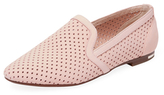 Yosi Samra Preslie Perforated Leather Loafer