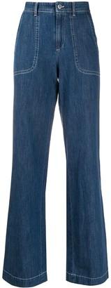 A.P.C. Wide Leg Jeans