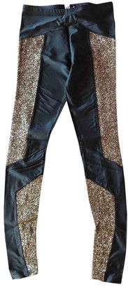 Brian Lichtenberg Black Trousers for Women
