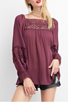 Easel Plum Top