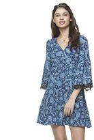 Candies Juniors' Candie's® Print Babydoll Dress