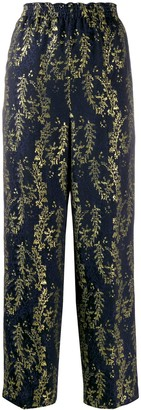Forte Forte Embroidered Trousers