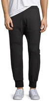 Neil Barrett Biker Jogger Pants, Charcoal