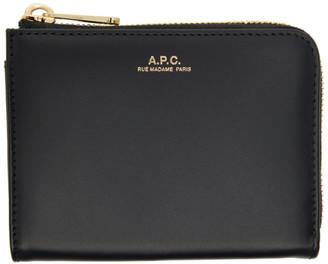 A.P.C. Black Lise Coin Wallet