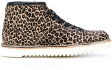 Paul Smith leopard print boots