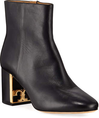Tory Burch Gigi Smooth Zip Booties