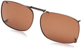 Haven Fits Over Sunwear 1 54 Rectangular Polarized Sunglasses