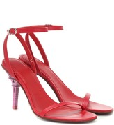 Vetements Leather sandals