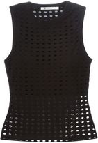 Alexander Wang perforated tank top